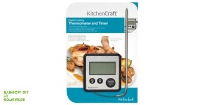 Digital Thermometer Timer Ideal For Candle Or Soap Making