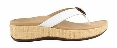 40d8a36cfb29 Vionic Women s Pacific Mimi Platform Wedged Sandals White Size ...