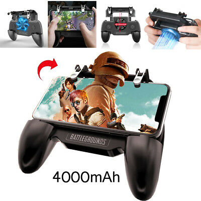 PUBG Mobile Phone Game Controller Gamepad Joystick Cooling Fan For Android IOS