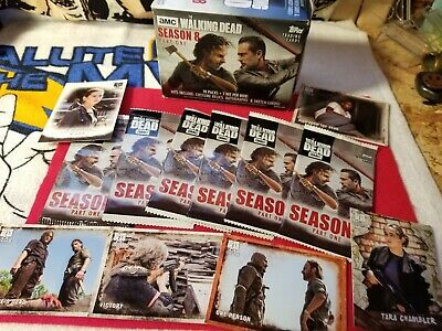 The Walking Dead Season 8 Part One Packs,brand New,sealed.