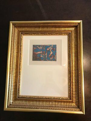Joan Miro - Original Color Etching w/ Aquatint Picasso Dali WE LOVE BEST OFFERS!