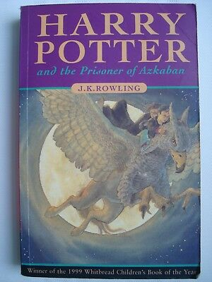 Harry Potter and the Prisoner of Azkaban by J. K. Rowling 1st Edition Paperback