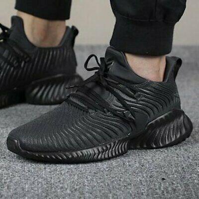 New ADIDAS Alphabounce Instinct Sneaker Mens triple black all sizes