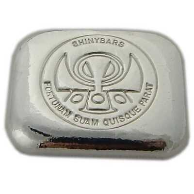 "Hand Poured 1 oz Silver Bar ""Logo Loaf"" .999 Fine Silver 