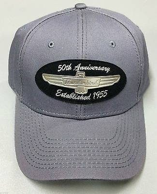 Rare Ford Thunderbird 50Th Anniversary Metal Emblem Hat/cap Officially Licensed