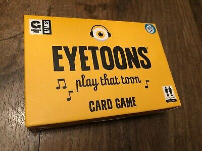 Ginger Fox Eyetoons Card Game - New Unwanted Gift