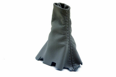 For 09-14 Acura TL Automatic Leather Shift Boot Gray