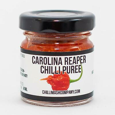 Carolina Reaper Chilli Puree - Worlds Hottest Chilli Gift - Made in the UK -