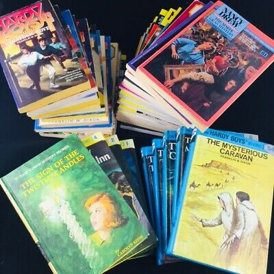 39 Nancy Drew Hardy Boys Classic Mystery Collection Hard & Soft Cover Mixed Lot