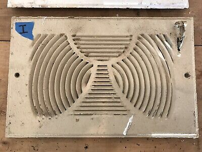 Vtg Antique Metal FLOOR/WALL REGISTER Vent Grate CRAFTSMAN Mission Art Deco