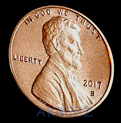 2017-S Enhanced Lincoln Cent Penny from Anniversary Set 17XC ** Free Ship **
