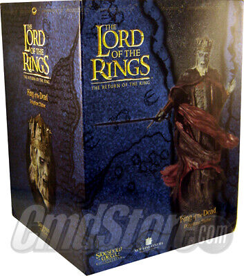 KING of the DEAD Polystone Statue LOTR RETURN OF THE KING Sideshow Weta