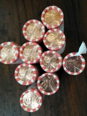 2019-D Uncerculated  Lincoln cent lot of 10