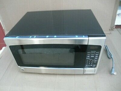 Ge 2 0 Cu Ft Stainless Steel Countertop Microwave Model Jes2051sn3ss