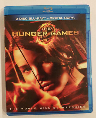 The Hunger Games (Blu-ray Disc, 2012, 2-Disc Set) Widescreen