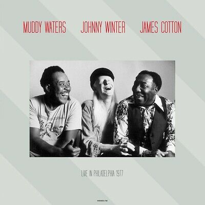 Muddy Waters - James Cotton - Johnny Winter Live in 1977 - NEW SEALED 180g LP