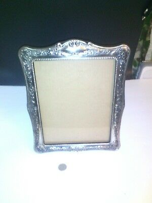 Large Antique Picture Frame, silver plated.