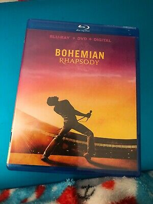 Bohemian Rhapsody (Blu-ray Disc, 2019) - Please Read
