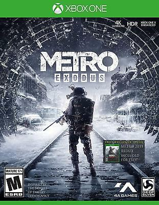 Metro Exodus: Day One Edition Microsoft Xbox One NEW USA Physical Game PRESALE 1