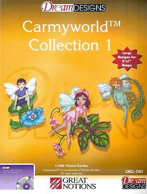 OESD Embroidery Machine Designs CD CARMYWORLD COLLECTION 1