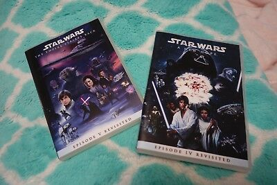 Star Wars Revisited  & Empire Strikes Back Revisited Adywan Edits DVD set