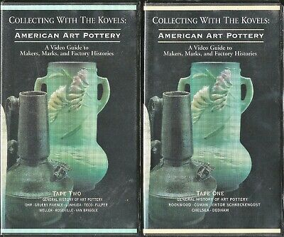 Collecting w/ Kovels: American Art Pottery 2-Vol. VHS Video Guide Maker's Marks