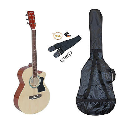 """Johnny Brook 40"""" """"Cutaway"""" Acoustic Guitar Kit (Colour Naked)"""