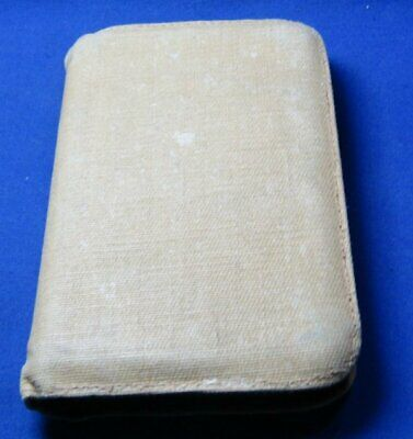 WWII 1942 Army New Testament Bible NAMED