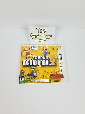 New Super Mario Bros. 2 (Nintendo 3DS, 2012) - Complete Tested Canadian Seller