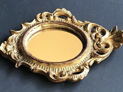 9b874006cdd4 Vintage Gold ITALY ITALIAN Antique MIRROR Framed Small Wall Frame LOTS  listed
