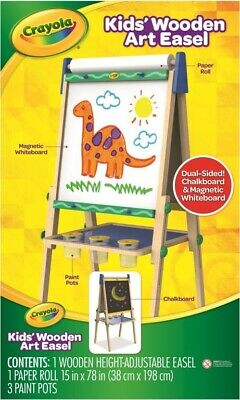 NEW Crayola Wooden Easel from Mr Toys