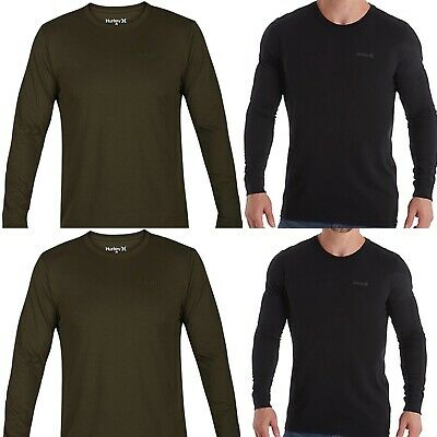 8a683b0d HURLEY MEN'S DRI-FIT One And Only 2.0 Long-Sleeve T-Shirt AJ1740 ...