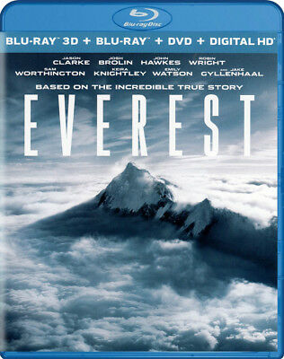Everest (3D + Blu-Ray + Dvd + Digital Hd) (Blu-Ray) (Blu-Ray)