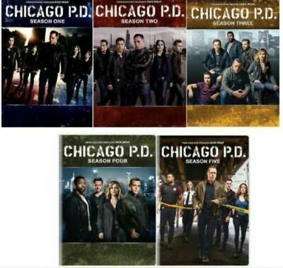 Chicago P.D. PD: The Complete Series Season 1-5 (DVD, 2018, 27-Disc Box Set)