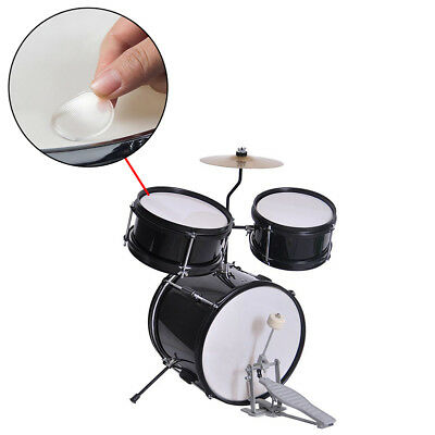 6Pcs Drum mute pad silicon gel muffler percussion instrument silencer practice9H
