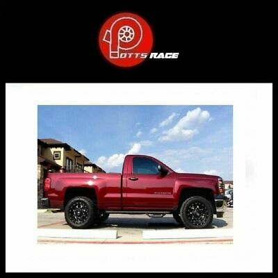 N-FAB C1470RC-4-TX Textured Black Nerf Step; Bed Access Chevy-GMC 1500 Regular Cab 6.5 Bed 14-18