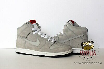 2007 Nike Dunk High Pro SB Pee Wee Herman sz 11 w  Box grey  693091082076