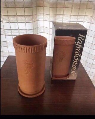 Italian Made Rafraichissior Boxed Terracotta Wine Cooler With Saucer
