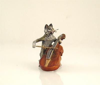 NEW OLD STOCK Bergmann Vienna CAT Musician CELLO or DOUBLE BASS Bronze Brass