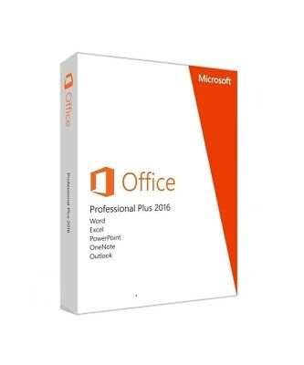 Microsoft Office 2016 Professional Plus Key Licenza 32/64-bit  ESD
