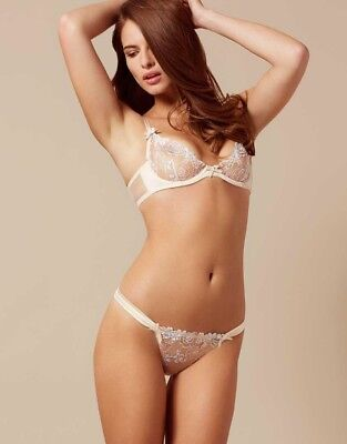 Agent Provocateur Sold Out Odette Set Bra 34B And Thong 2(s) 618007b06