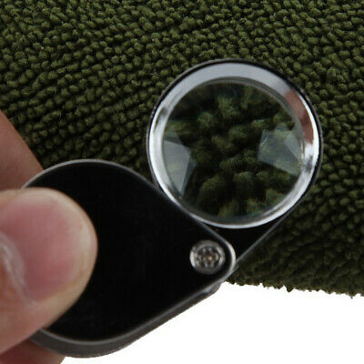 Folding Pocket Jewelry Magnifier Eyes Glass Loupe Lens Magnifying e5tQ