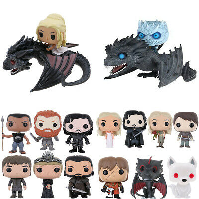 Funko Pop! Game of Thrones: Jon Snow Daenerys Night King Vinile Azione Figura IT