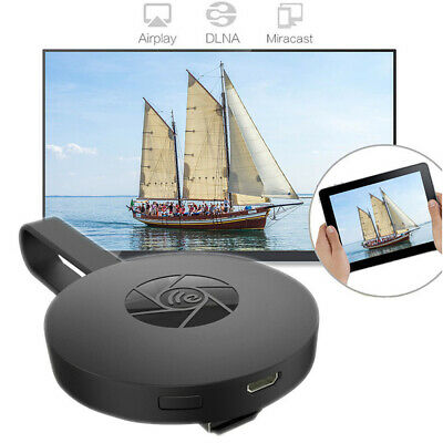 1080p MiraScreen G2 Miracast WiFi Wireless Dongle Display HDMI TV Receiver Black