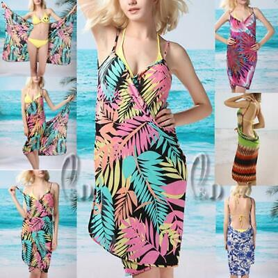 WHOLESALE BULK LOT OF 10 MIXED STYLE Backless Bikini Cover up Wrap Dresss sw005