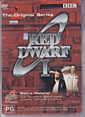 RED DWARF Series 1 BBC [DVD 2002] 2/DISCS R4 PAL BBC