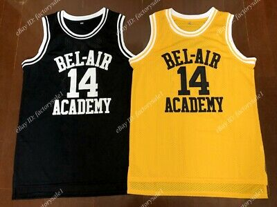 The Fresh Prince of Bel Air Academy #14 Will Smith Men's Basketball Jersey Sewn