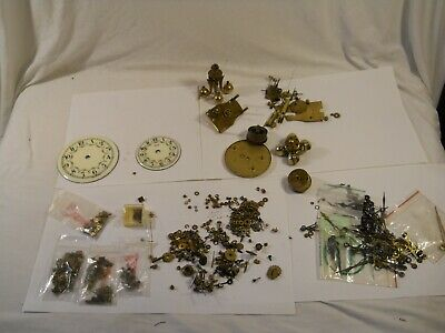 400 Day Clock Parts Lot