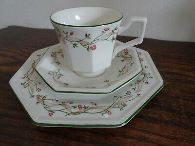 Vintage Eternal Beau Trio Cup Saucer & Side Plate 20cm Johnson Brothers VGC