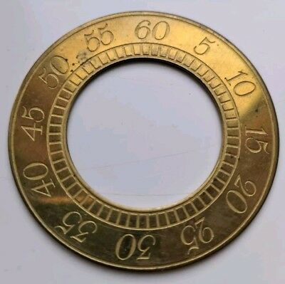 Grandfather Clock Brass Sub Dial For Antique Long case Clock Dial